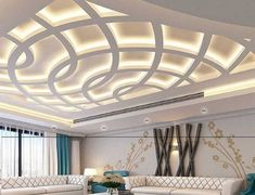 Latest false ceiling designs for hall Modern POP design for living room 2018 The largest catalogue for Latest false ceiling designs for living room modern interiors, and New pop design for hall ceiling and walls catalogue for 2018 rooms Latest False Ceiling Designs, House Ceiling Design, Ceiling Design Living Room, Bedroom False Ceiling Design, Home Ceiling, Roof Design, Ceiling Decor, Living Room Designs, False Ceiling Ideas