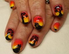Gone with the wind nails