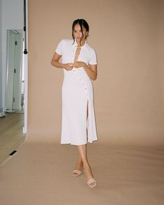 Song Of Style, My Style, White Dress, Street Style, Songs, Shirts, Dresses, Women, Instagram