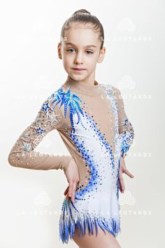 Competition Rhythmic Gymnastics Leotard SOLD