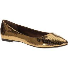 City Classified Women's Sadler Pointed Toe Flats. Pretty!!!