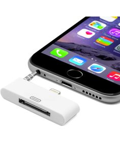 White iPhone 6 30-pin dock adapter Sale - Unotec