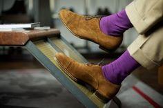 I love coloured socks