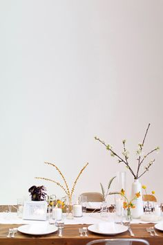 minimal + modern flowers from bash, please