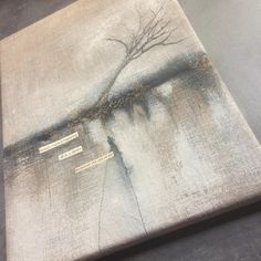 Memories Rise out of Me... Mixed Media with Stitch | DL Rigter Artist & Maker