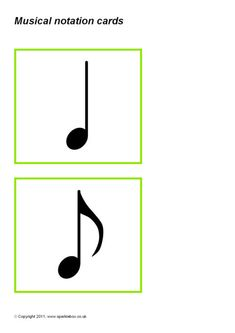 A set of printable cards with the musical notation for different length notes and rests. Could be laid out in sequences for children to create their own rhythmical phrases. Canvas Learning, Presentation Cards, Music Pictures, Music Class, Printable Cards, Music Notes, Teacher Resources, Musicals, Letters