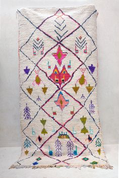 Vintage Moroccan rug from Pink Rug Co. Moroccan Room, Moroccan Style, Textiles, Berber Rug, Custom Rugs, Pink Rug, Carpet Design, Floor Rugs, Rugs On Carpet