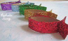 Glittery Jesus Fish Craft- Make a Mobile!