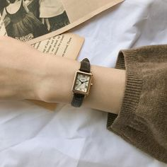 Cartier Watches Women, Square Watch, Hands, Fall, Winter, Leather, Life, Fashion, Accessories