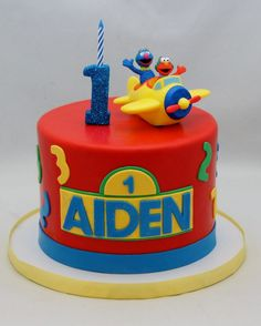 pinterest elmo and grover cakes - Bing Images