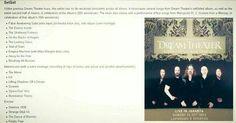 DT songlist jakarta oktober 2014