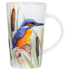 British Birds Kingfisher Latte Mug