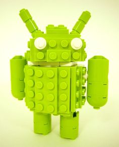 Brick Robot Companion for Android Building Kit by AbbieDabbles, $30.00