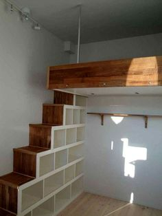 Deciding to Buy a Loft Space Bed (Bunk Beds). – Bunk Beds for Kids Room Design Bedroom, Small Room Bedroom, Bedroom Loft, Loft Room, Bedroom Decor, Loft Stairs, Bunk Beds With Stairs, Loft Beds, Tiny House Loft