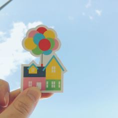 """Happy Anniversary to @pixar's UP. One of my top 5 Disney movies of all time. Comment below your favorite scene or quotes from UP to win one of these """"Take Me Home"""" stickers.  Winner will be chosen at random. Account must be public and following me.  #up #disney #sticker #home #balloons #pixar #pixarup #uphouse #disneyart #disneyillustration #design #illustration #disneyartshare #picame #picoftheday #carl #art #waltdisneyworld #disneyland #adventure #adventureisoutthere by themanandthemouse…"""