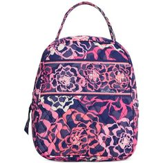 Vera Bradley Lunch Bunch Bag ($34) ❤ liked on Polyvore featuring home, kitchen & dining, food storage containers, katalina pink, vera bradley bags and vera bradley
