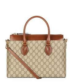 GUCCI Linea A Gg Supreme Tote. #gucci #bags #shoulder bags #hand bags #canvas #leather #tote #