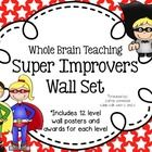 Super Improvers Superhero Themed Wall Set {Whole Brain Teaching} Superhero Classroom, Superhero Room, Preschool Classroom, Future Classroom, Classroom Ideas, Class Management, Classroom Management, Super Improvers Wall, Whole Brain Teaching