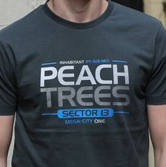 Peach Trees - Fitted T-shirt