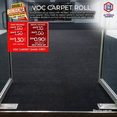 Other for sale, in Klang, Selangor, Malaysia. Double Bonanza promo is running on Office Carpets! Save Now With promo Office Carpet Just From RM Best Flooring, Flooring Options, Vinyl Flooring, Artificial Grass Carpet, Carpet Sale, Office Carpet, Ad Home, Bamboo Blinds