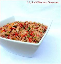 Couscous, Fried Rice, Entrees, Cravings, Fries, Picnic, Healthy Recipes, Healthy Food, Cooking
