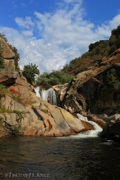 Swimming Holes of California: Middle Fork, Tule River Falls (Giant Sequoia National Monument) - Josh Lopez and friends jump the 75 and 100 footers.