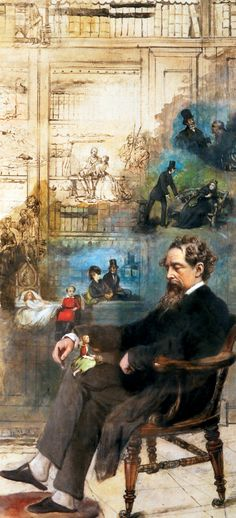 Dickens,7 de febrero de 1812.....201 años,aún sigue viviendo en las páginas de sus maravillosas historias,aún nos transporta a su tiempo y a su contexto social ,denunciando las injusticias de siempre con increíbles narraciones hechas cuentos,feliz cumpleaños.