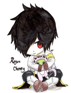 Rogue Cheney Chibi by akachan-okami