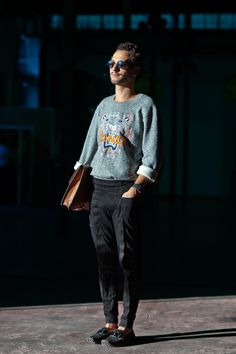 Love his style!