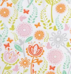 Pastel Flower Fields  10x10 Sweet Bobbins Wet Bag  by SweetBobbins, $15.00