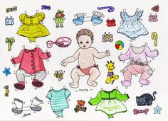 SISSEL * 1500 free paper dolls from artist Arielle Gabriel The International Paper Doll Society for Pinterest paper doll pals *