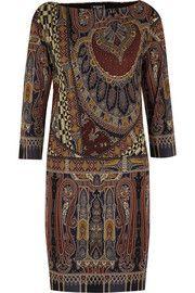 EtroPaisley-print stretch-crepe dress    gorgeous