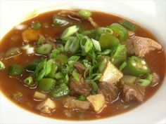 BBQ Turkey or Chicken Gumbo.......Rachael Ray's Week in a Day .....epi...Thanksgiving Before and After  -s 5 ..... FoodNetwork.com
