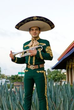 a Mariachi musician, who along with his other band mates bring life to a traditional dance from the state of Jalisco.