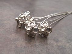 LOW SHIPPING 2 Shiny Bali Sterling Silver by LindenAvenueDesigns, $4.40