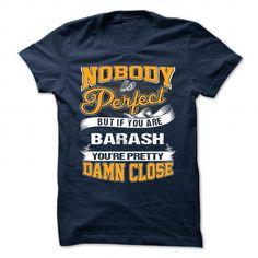 Cool BARASH - Never Underestimate the power of a BARASH