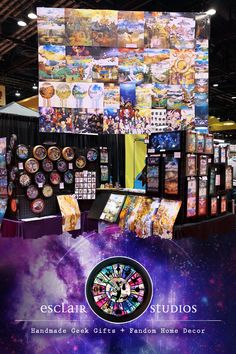 Esclair Studios specializes in unique handmade Wall Clocks, Art Prints, Pin Back Buttons, Charms, and Layered Shadowbox Artwork to fill all of your fandom needs! Handmade Wall Clocks, Geek Gifts, Shadow Box, Exhibit, Fill, Studios, Charms, Geek Stuff, Fandoms