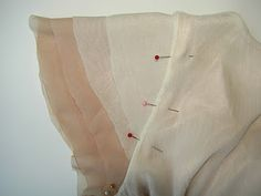 KRISTINA J.: Constructing: Flutter Sleeve (adding sheer layered flutter sleeves to a sleeveless top. this may be handy for the impending school rule change. Sewing Hacks, Sewing Tutorials, Sewing Patterns, Sewing Tips, Diy Clothing, Sewing Clothes, Diy Fashion, Ideias Fashion, Sewing Sleeves