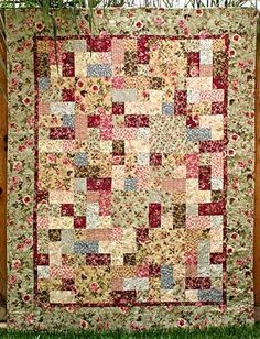 P3 Designs: Shop | Category: Patterns | Product: 3-6-9 Quilt