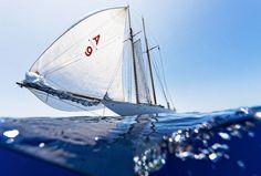La magie de l'océan en photos avec bateau à voile réalisées par Kurt Arrigo