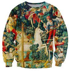 >> Click to Buy << 2017 Autumn New fashion Brand Hip Hop clothing Sweatshirts Unicorn Retro 3d printed Women Men Long Sleeve Outerwear S-5XL R1683 #Affiliate