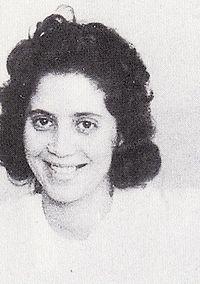 Djamila Bouhired, militante du FLN durant la guerre d'Algérie - Wikipédia