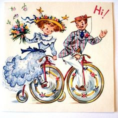 Vintage Birthday Card @starmango #cards #vintage