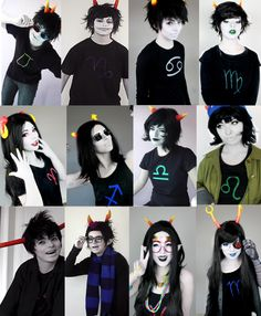 Homestuck Trolls cosplay