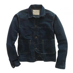 RRL Transcontinetal Denim Jacket