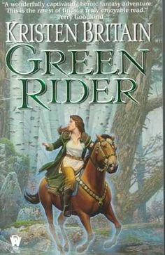 A deadly hunter, a mysteriously dead messenger, and a very cool horse... Green Rider kept me turning pages late into the night the first time I read it ... and the second time... and the third time... dang it! :D