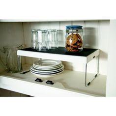 Lakeland Cupboard 'Add a Shelf' Storage Organiser: Amazon.co.uk: Kitchen & Home