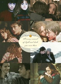 """Friendship of Harry and Hermione. """" Every moment of light and dark, you were there. Wiki Harry Potter, Harry Potter Friendship, Harmony Harry Potter, Harry Potter Hermione Granger, Mundo Harry Potter, Harry Potter Artwork, Harry Potter Feels, Harry Potter Ships, Harry Potter Drawings"""
