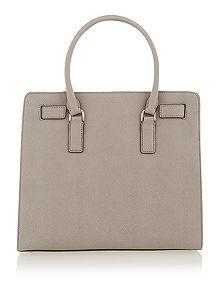 Dillon grey large tote bag