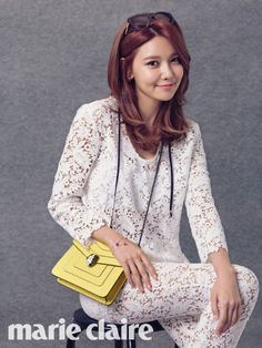 Girls' Generation Member Sooyoung is Featured in Marie Claire | Koogle TV